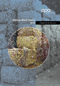 Report cover with picture of bails of waste