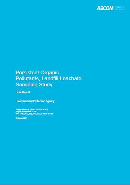POPs landfill leachate sampling study thumbnail