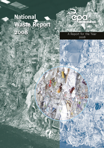report cover with aerial photo of waste site