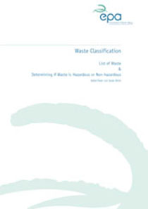 Report cover with EPA logo
