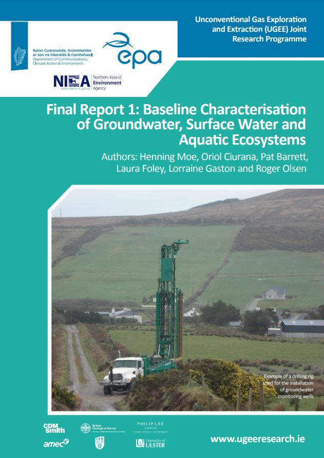 Baseline Characterisation of Groundwater part 1 of 4 thumbnail