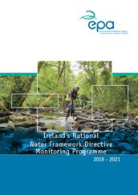 Ireland's National Water Framework Directive Monitoring Programme, 2019-2021 cover