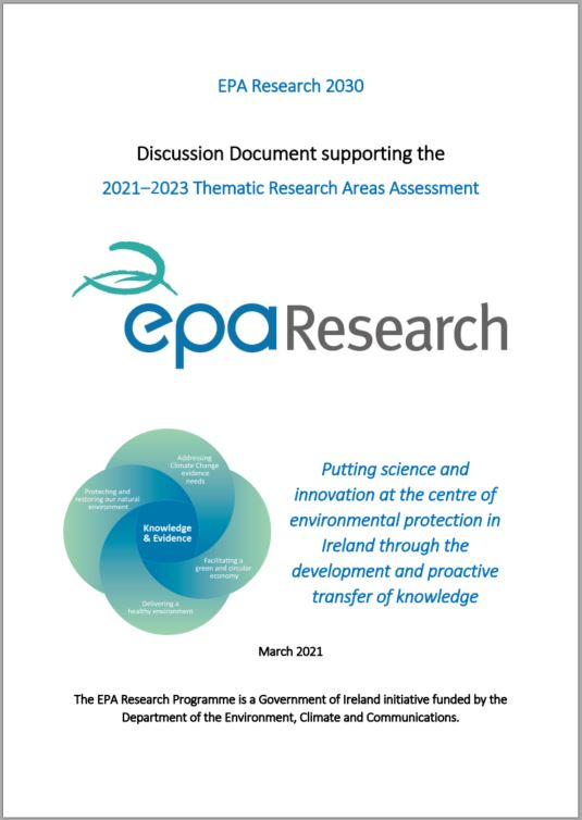 Discussion document front cover