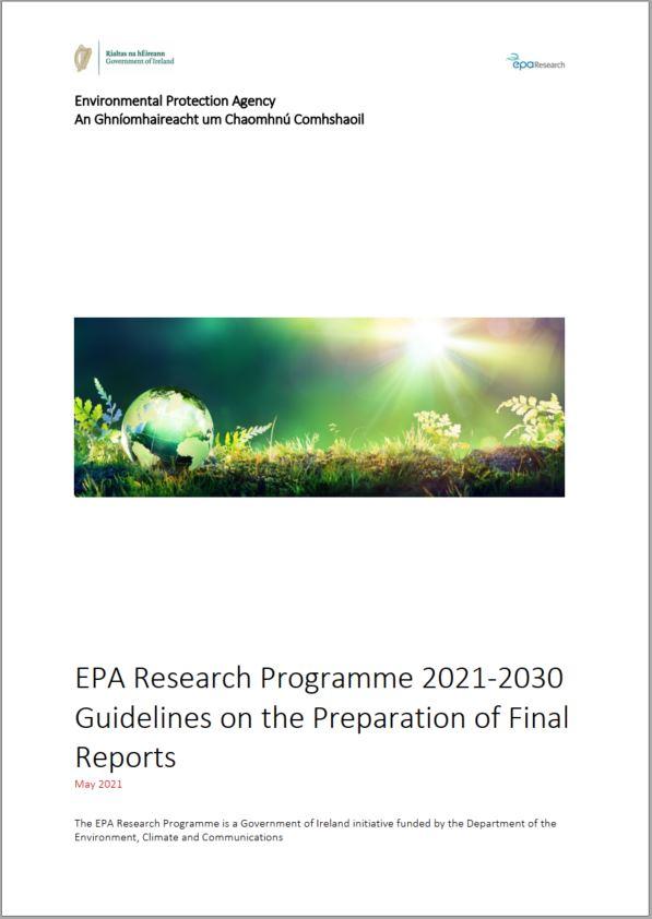 Final report guidance thumbnail