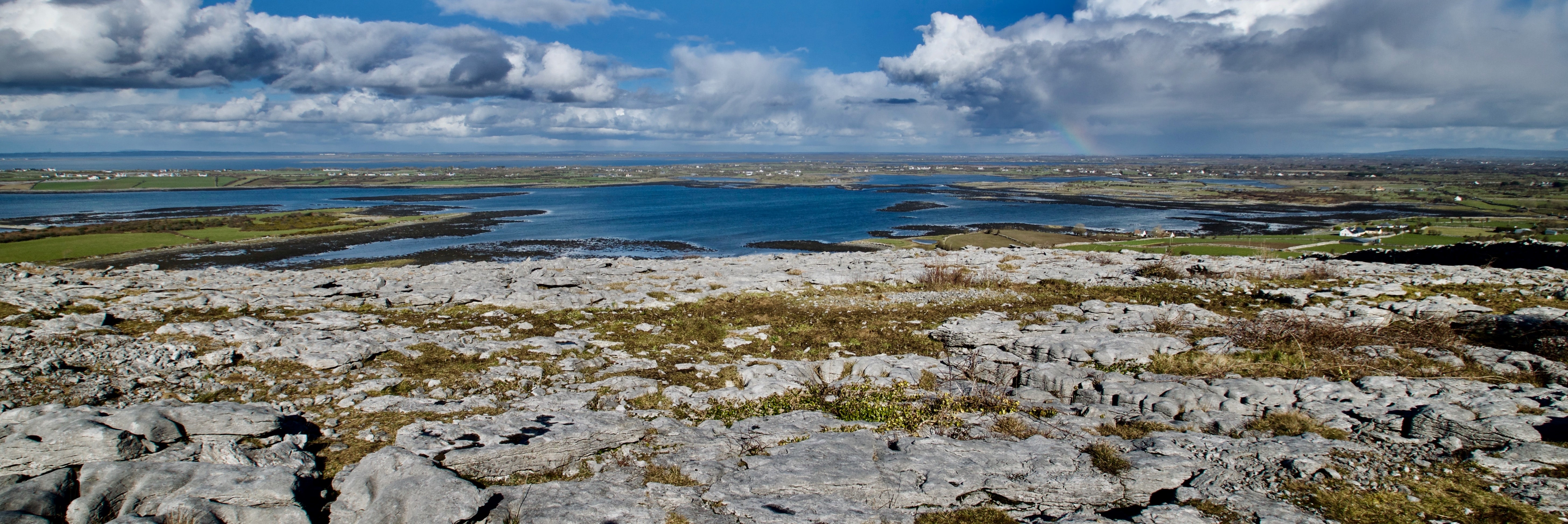 Image of the Burren and the sky